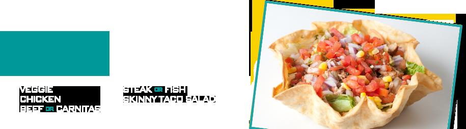 Slider – Taco Salad